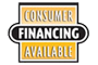 Consumer Financing Available! Click here to find out more information!